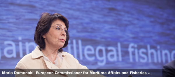 Maria Damanaki, European Commissioner for Maritime Affairs and Fisheries