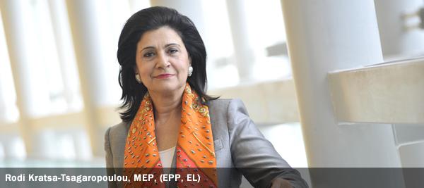 Rodi Kratsa-Tsagaropoulou, MEP, EPP, EL