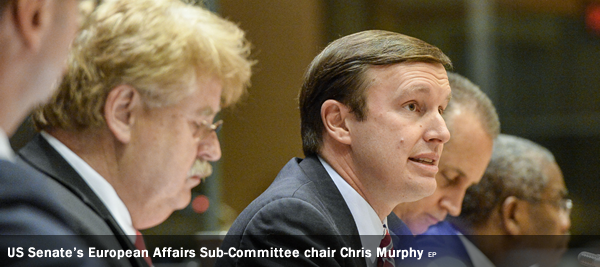 US Senate's European Affairs Sub-Committee chair Chris Murphy