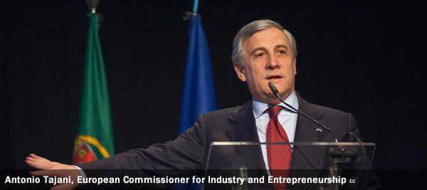 Antonio Tajani, European Commissioner for Industry and Entrepreneurship