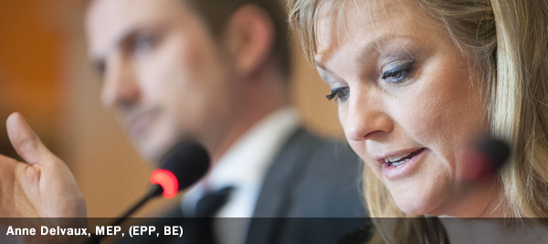 Anne Delvaux, MEP, EPP, BE