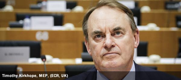 Timothy Kirkhope, MEP, ECR, UK