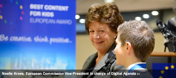 lie Kroes, European Commission Vice-President in charge of Digital Agenda