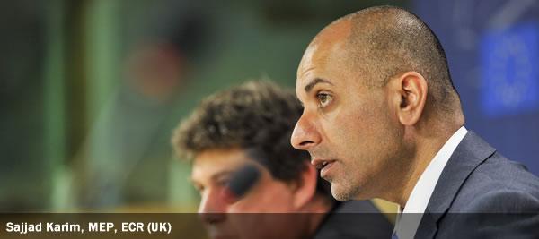 Sajjad Karim, MEP, ECR (UK)