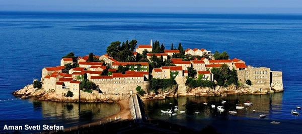 Aman Sveti Stefan - Hotel