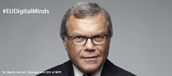 Sir Martin Sorrell, Founder and CEO of WPP