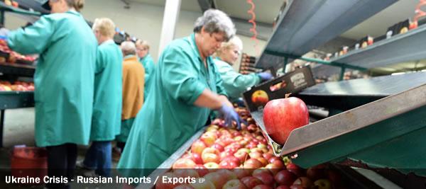 Ukraine Crisis - Russian Imports - Exports
