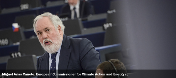 Miguel Arias Cañete, European Commissioner for Climate Action and Energy