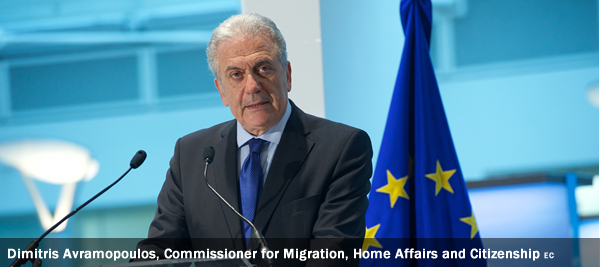 Dimitris Avramopoulos, Commissioner for Migration, Home Affairs and Citizenship