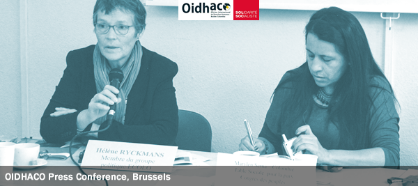 OIDHACO Press Conference, Brussels