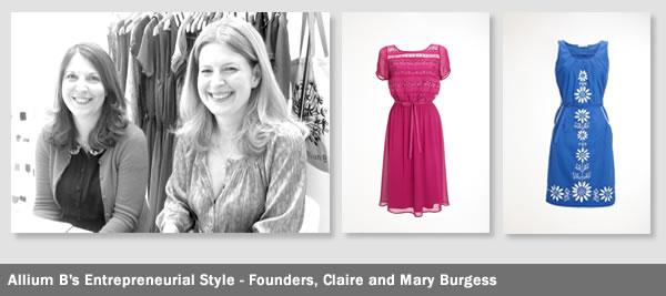 Mary Burgess, Claire Burgess, Allium B