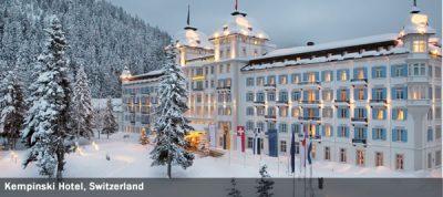 Kempinski Hotel, Switzerland