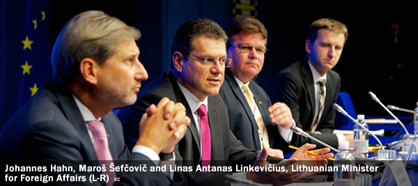 Lithuanian Foreign Minister Linas Linkevičius