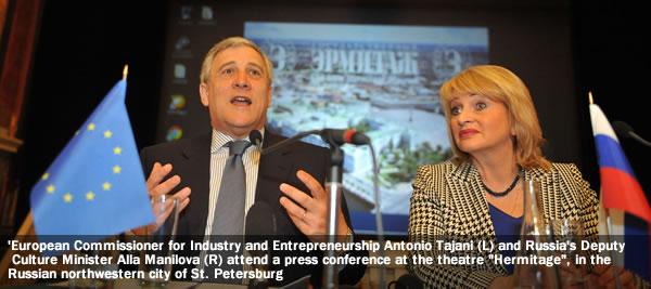 Tajani, Trade, Russia