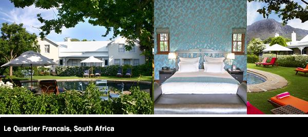 Le Quartier Francais, South Africa, Hotel