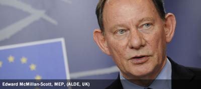 Edward McMillan-Scott, MEP, ALDE, UK