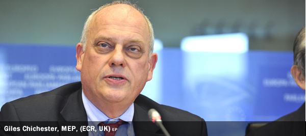 Giles Chichester, MEP, (ECR, UK)