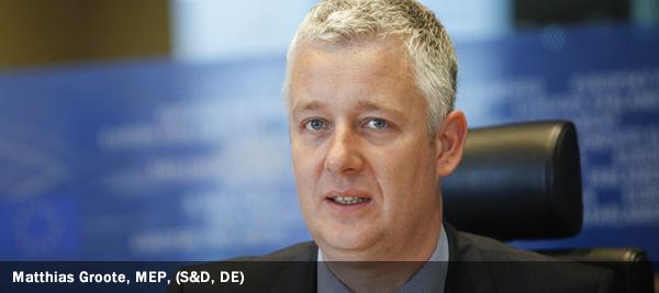 Matthias Groote, MEP, S&D