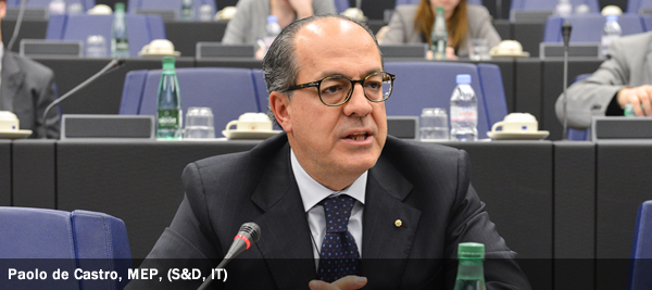 Paolo de Castro, MEP, S&D, IT