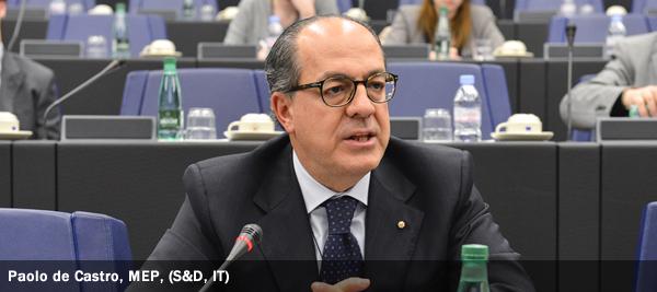Paolo de Castro, MEP, S&D, IT