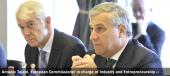 Antonio Tajani, Vice-President of the EC in charge of Industry and Entrepreneurship