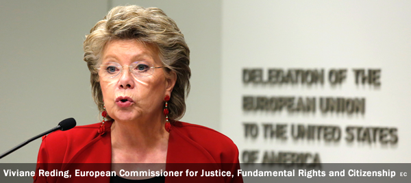 Viviane Reding, European Commissioner for Justice, Fundamental Rights and Citizenship