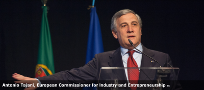 Antonio Tajani, European Commissioner for Industry and Entrepreneurship