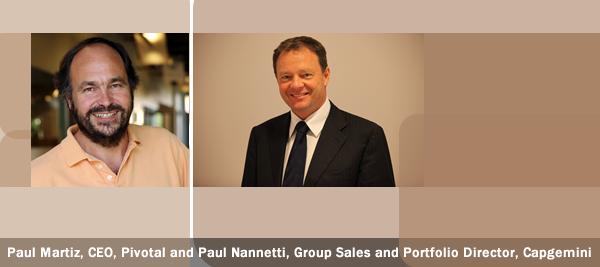 Paul Martiz, CEO, Pivotal and Paul Nannetti, Group Sales and Portfolio Director, Capgemini