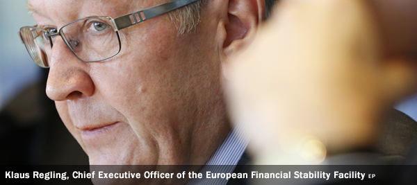 Klaus Regling, Chief Executive Officer of the European Financial Stability Facility