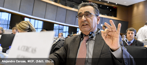 Alejandro Cercas, MEP, (S&D, ES)