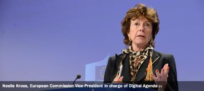 Neelie Kroes, European Commission Vice-President in charge of Digital Agenda
