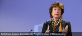 Neelie Kroes, European Commission Vice-President in charge of Digital Agenda