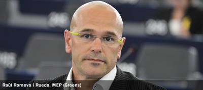 Raül Romeva i Rueda, MEP (Greens)
