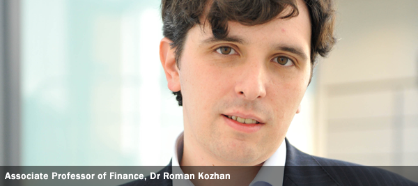Associate Professor of Finance, Dr Roman Kozhan