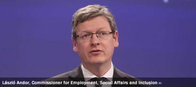 László Andor, Commissioner for Employment, Social Affairs and Inclusion EC
