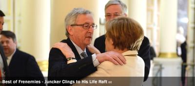 Juncker - Presidency - Merkel