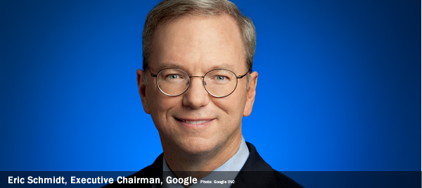 Eric Schmidt, Executive Chairman, Google, #EUDigitalminds