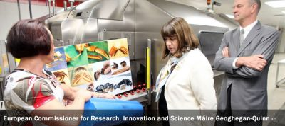 European Commissioner for Research, Innovation and Science Máire Geoghegan-Quinn