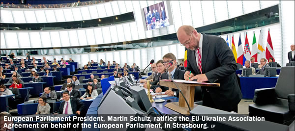 Martin Schulz - Trade Agreement - Ukraine
