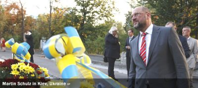 Martin Schulz - Kiev, Ukraine