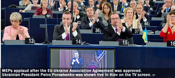 Ukraine, Trade Agreement, MEPs