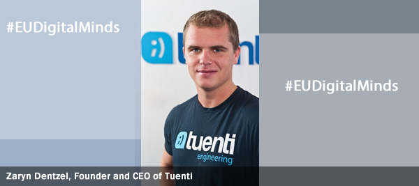 Zaryn Dentzel, Founder and CEO of Tuenti