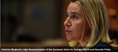 Federica Mogherini, High Representative of the European Union for Foreign Affairs and Security Policy