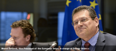 Maroš Šefčovič, Vice-President of the European Union, in charge of Energy Union
