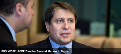 BUSINESSEUROPE Director General Markus J. Beyrer