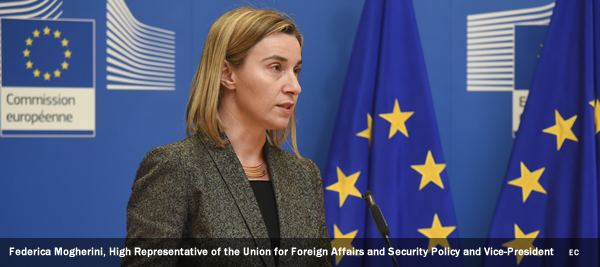 Federica Mogherini, High Representative of the Union for Foreign Affairs and Security Policy and Vice-President of the EC