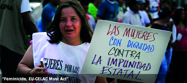 Feminicide, EU-CELAC Must Act