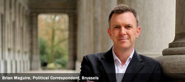 Brian Maguire, Political Correspondent, Brussels
