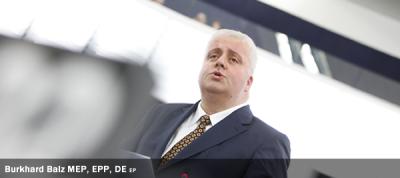 Burkhard Balz MEP, EPP, DE