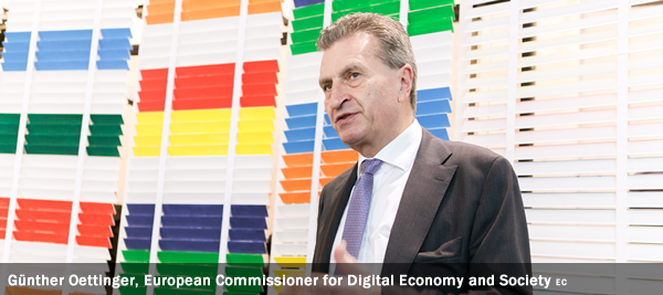Günther Oettinger, European Commissioner for Digital Economy and Society